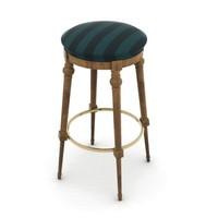 3d pub chair