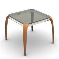 3d model stylish table