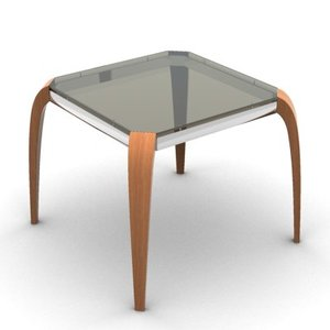 3d model stylish table