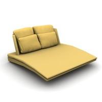 stylish sofa 3d max
