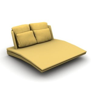stylish sofa 3d max