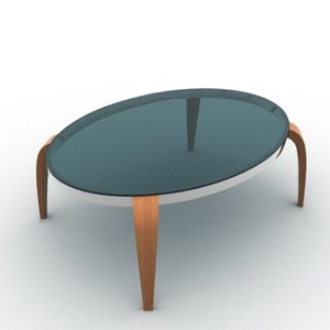 3d stylish table model
