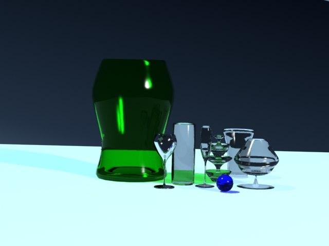 glass items interior max