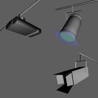 3dsmax downlights lights