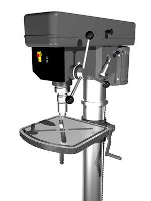 drill press 3d model