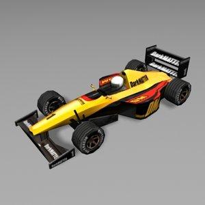 f1 car 3d model