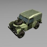 jeep car 3d 3ds
