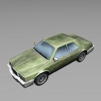3d 3ds car vehicle