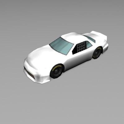 car stockcar 3ds