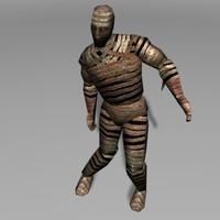 mummy 3d model