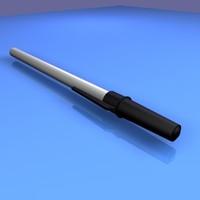 free realistic pen 3d model