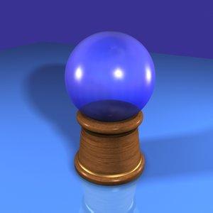 crystal ball 3d max