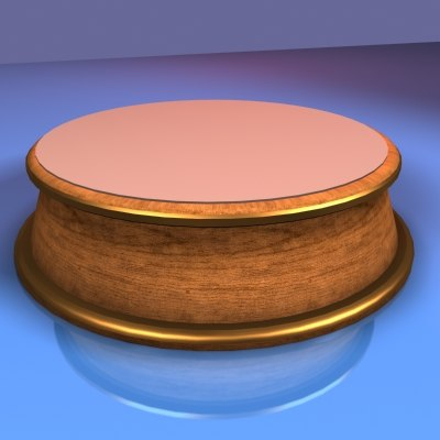 stand turntable 3d model
