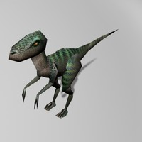 raptor static 3d 3ds