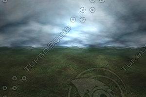 3dsmax sky sphere