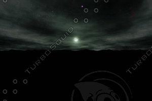 3d sky sphere