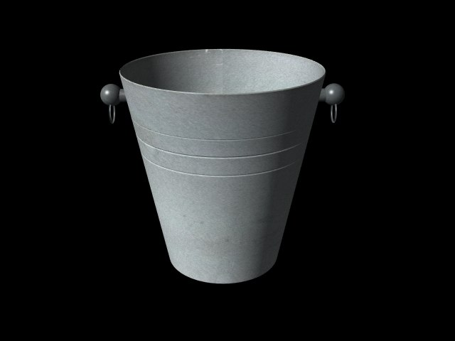 3ds max ice bucket