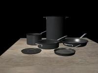 3d max cookware