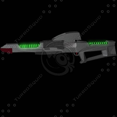type 3a phaser rifle 3d model