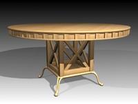 3d model of table mrfurniture