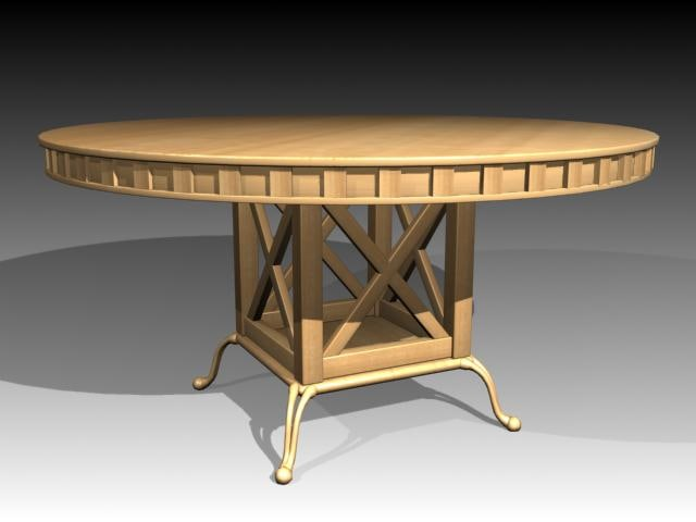 3d model of table mrfurniture