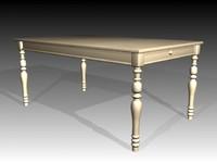 table mrfurniture 3d model