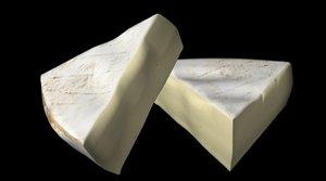 cheese brie 3d lwo