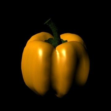bryce yellow bell pepper