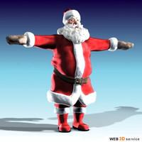 new santa claus 3d max