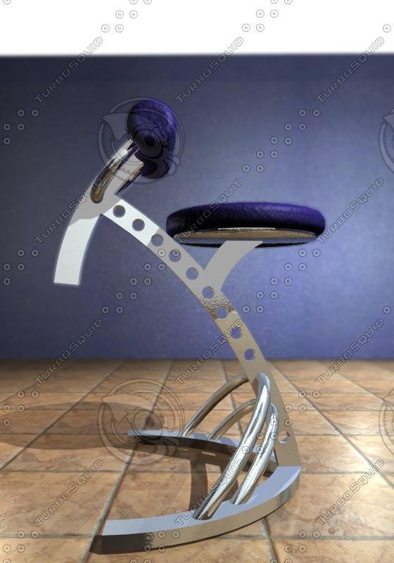 bar furniture 3d model