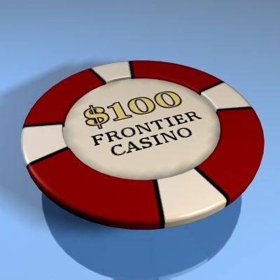 3d casino chip model