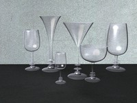 3d stolenburg stemware model