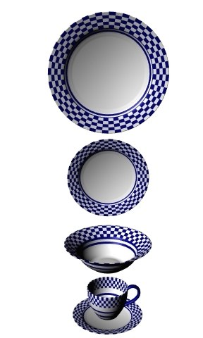 3d model dinnerware bowl dish