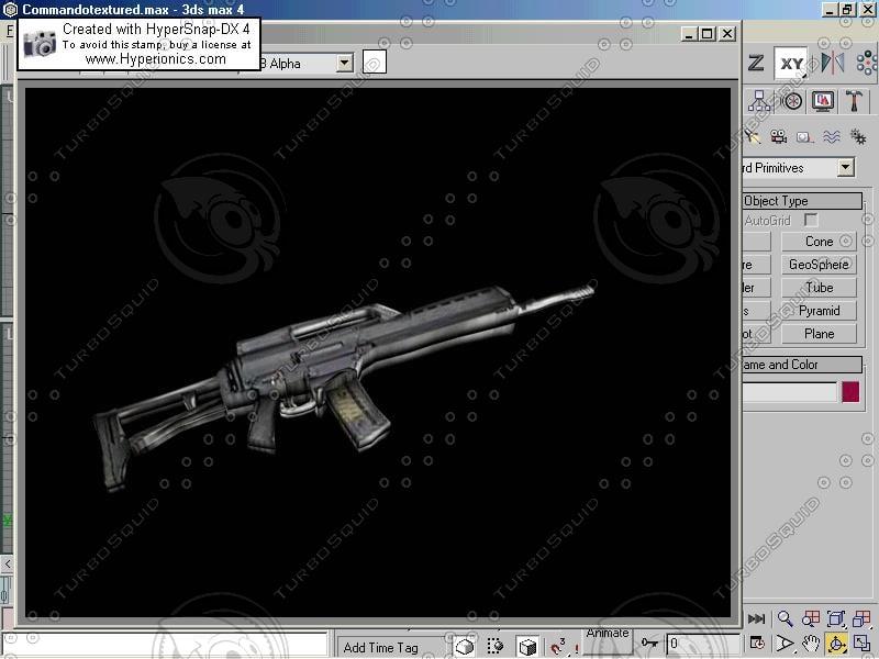 free max model s gun