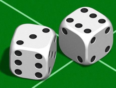 3d model dice electric image