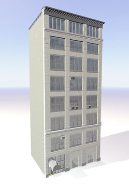 york building br5 3d model