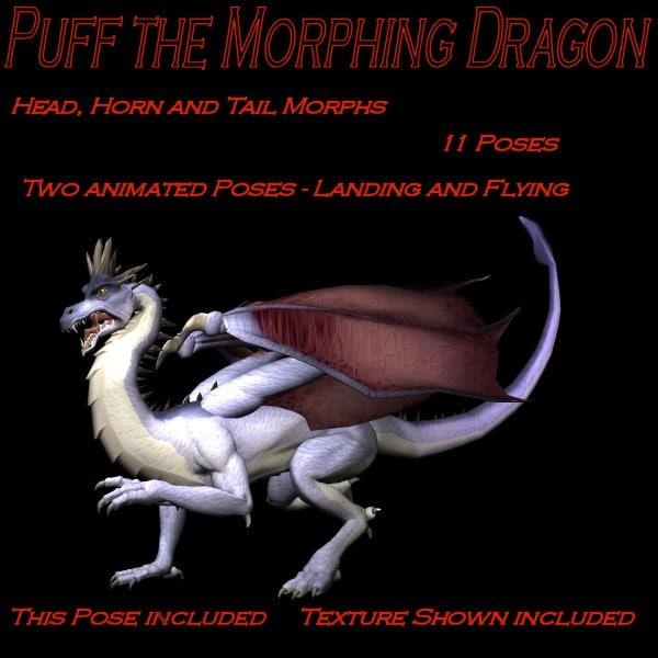 daz3d dragon 3d model