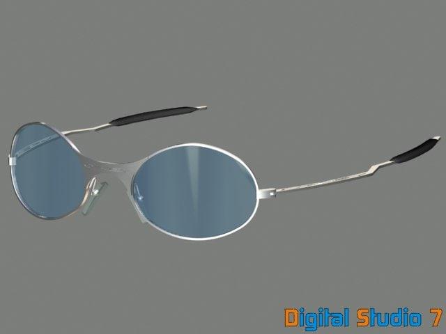 3d oakley sunglasses model