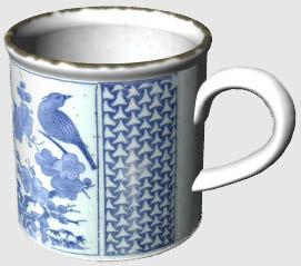 3d mug coffee tea