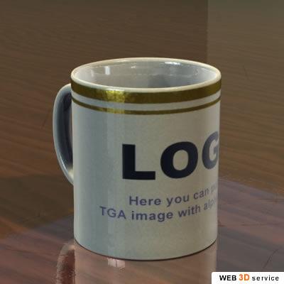 3d model cup s