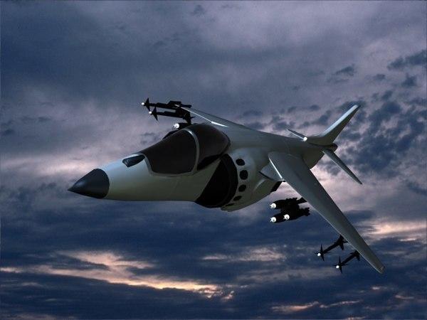 3d harrier jet royal navy