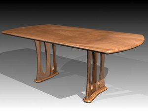 3d model table mrfurniture