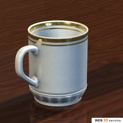 3ds max cup photorealistic s