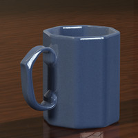 photorealistic cup 3d model