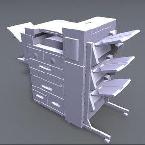 3d office model