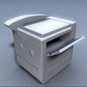 printer small 3d obj
