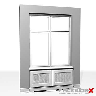 3d max window architectural
