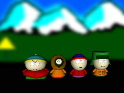 3ds max south park stan cartman