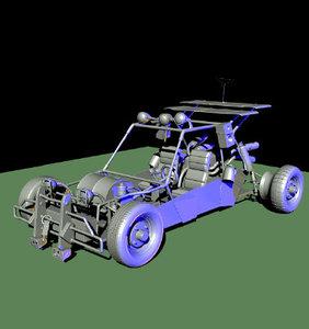 car automobile vehicle 3d model