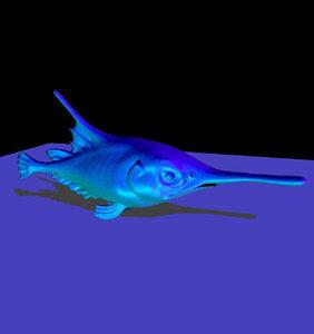 lwo marine animals character